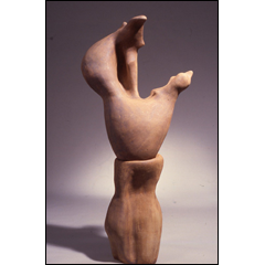 Embrace - 63x24 inches, 1998 - Stoneware