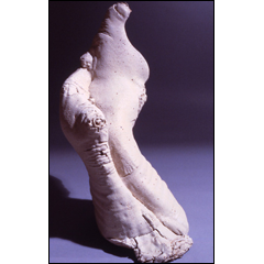Sitting, Waiting - 36x14 inches, 2002 - Stoneware