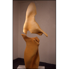 Suspended Motion - 108x20 inches, 1999 - Stoneware