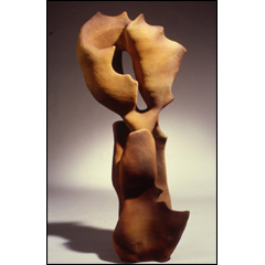 Windswept - 60x22 inches, 1999 - Stoneware