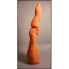 Body and Land - (alternate view) 50x14 inches, 2005