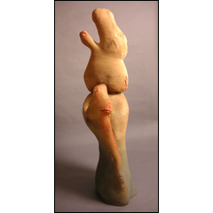 Body and Land (yellow) - 50x14 inches, 2005